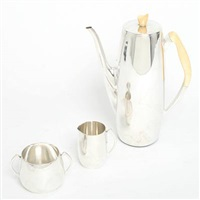 coffee set (set of 3) by a. f. rasmussen