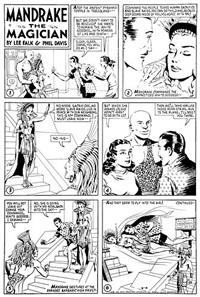 mandrake the magician by phil davis