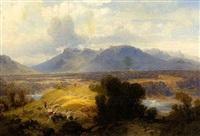 südliche vorgebirgslandschaft by theodor carl von götz