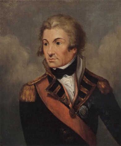 Portrait Of Rear Admiral Horatio Lord Nelson Kb By Daniel Orme