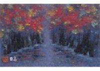 autumn ravine by akira kaho
