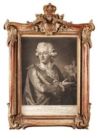 konung gustaf iii (1746-1792) by carl fredrik van breda