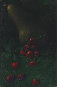 pears and cherries by jørgen boberg