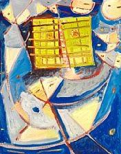 objekt i blåt by egill jacobsen