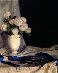 weiße rosen by paul walter ehrhardt