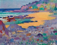 untitled - beachscape by john thomas rigby