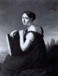 portrait de l'artiste by lucille foullon