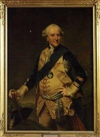 portrait of ferdinand, duke of brunswick-wolfenbüttel by johann georg ziesenis