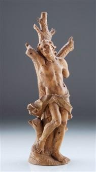 heiliger sebastian by johann wolfgang von der auvera