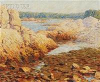 rocky coastal view by marion p. howard