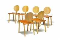 fiora side chairs (set of 6) by gigi sabadin