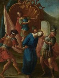 christus vor pilatus by johann caspar pfaff