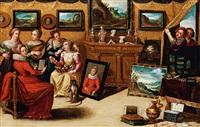 allegorie der fünf sinne by hieronymus francken the younger