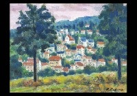 hill in the meudon by kenkichi kodera