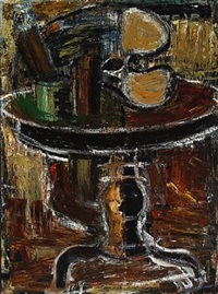 still life on table by mogens andersen