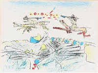 two compositions (2 works) by roberto matta