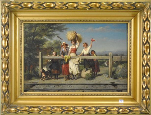 paysannes by françois verheyden