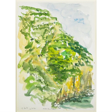 hotel san pietro cliffs over paradise by elaine de kooning