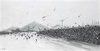 disembarkation (marine siege) by konstantin batynkov