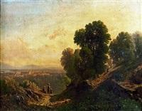 vue de la campagne italienne by elisabeth fort-siméon