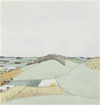 rolling hills by john northcote nash