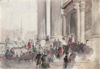 the lord mayor's arrival by thomas allom