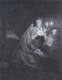 music by candlelight by pieter willem sebes