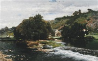 rapids by v. quinaux