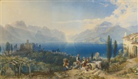 lago di garda by william collingwood smith
