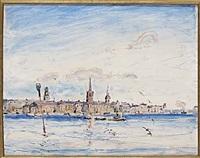 utsikt mot riddarholmen och gamla stan by rikard lindström