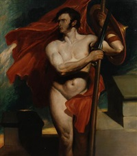 the standard bearer by daniel maclise