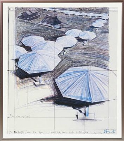 the umbrellas by christo and jeanne claude