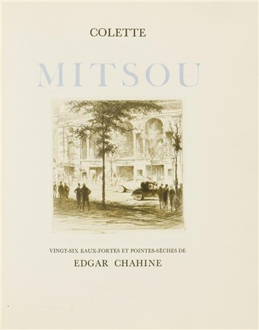 mitsou bk by colette w27 works 4to by edgar chahine