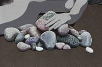 stenbillede (stone painting) by erik rasmussen