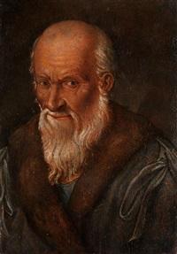 brustbild eines alten mannes by hans baldung grien