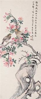 花鸟 (flowers and birds) by ma jiatong