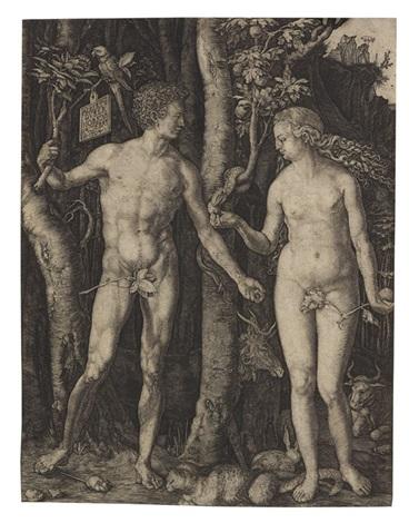 adam und eva by albrecht dürer