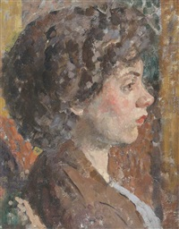 a young model, oxford by francis ernest jackson