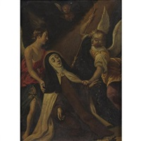 the ecstasy of st. teresa by hispano-flemish school (17)