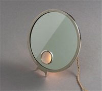tischspiegel mit leuchte le mirophar by miroir brot