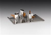 mokkaservice (4 works) by franz hagenauer