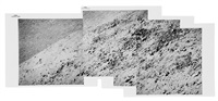 telephoto panorama of trophy point on hadley rille's west wall, station 9a by david scott
