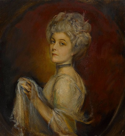 marion alice lady bateman hanbury verw knapp by franz seraph von lenbach