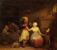 der flirtende wirt by leopold fisette