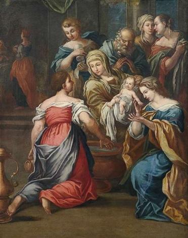 geburt der maria by carlo maratta