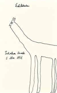 eichkätzchen by oswald tschirtner