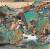 云水身心 (landscape) by qi enjin