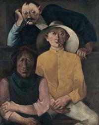 drei arbeiter by wilhelm runze