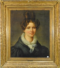 portrait de jeune femme by françois joseph navez