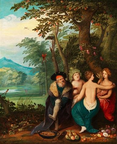 allegorie der vier jahreszeiten by jan brueghel the younger